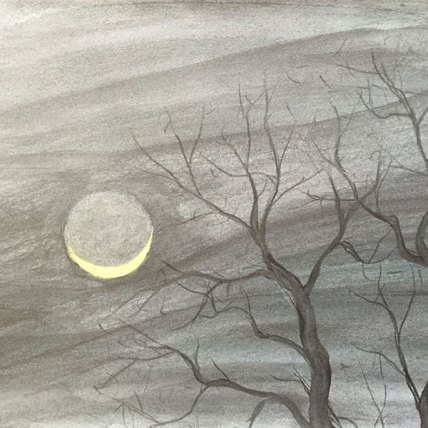 """moon rising 