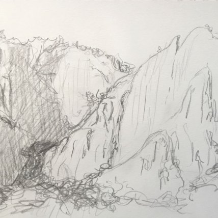 """yosemite (from below) 
